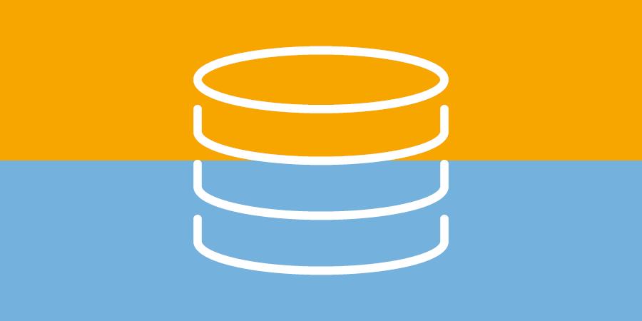Netzwerktechnik - Datenbank - Symbol