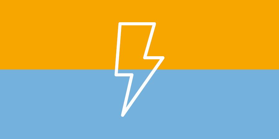 Netzwerktechnik - USV - Unterbrechungsfreie Stromversorgung - Symbol