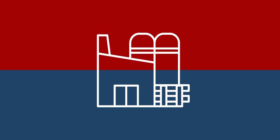 Warenwirtschaft - Produktion - Symbol