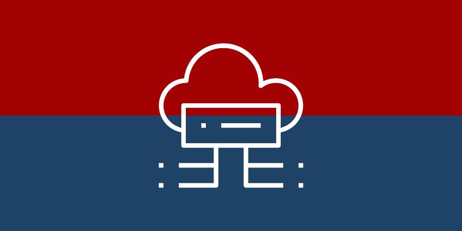 Warenwirtschaft - Cloud oder Inhouse - Symbol