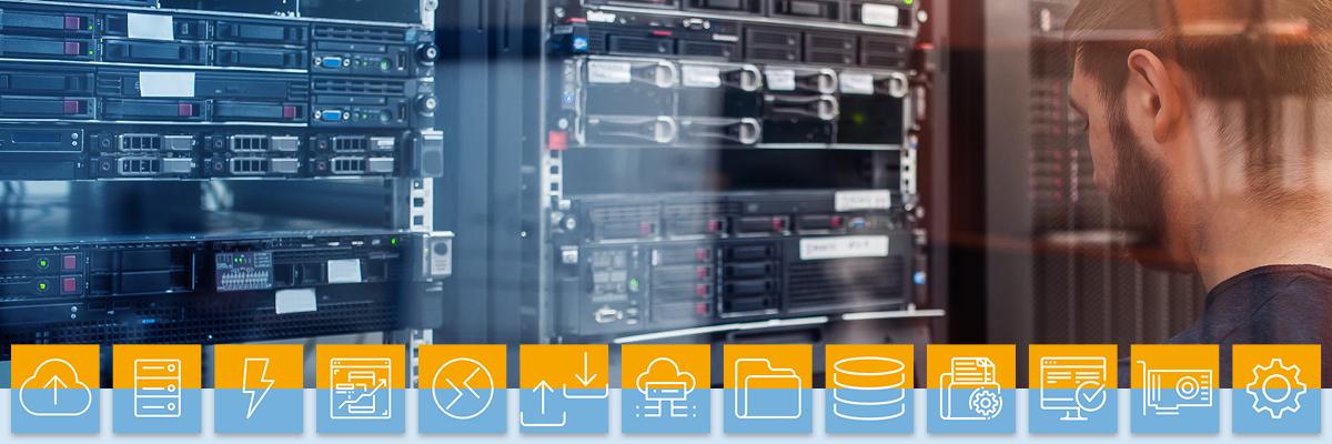 Netzwerktechnik - Serverraum - Image