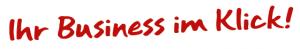 Warenwirtschaft - Slogan: Ihr Business im Klick!