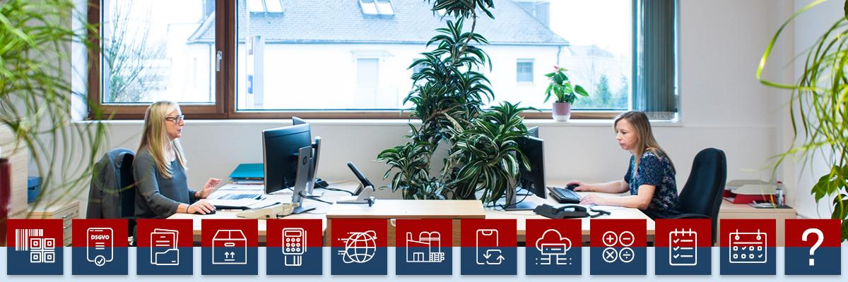 Warenwirtschaft - Decom Mitarbeiterinnen im Büro - Image
