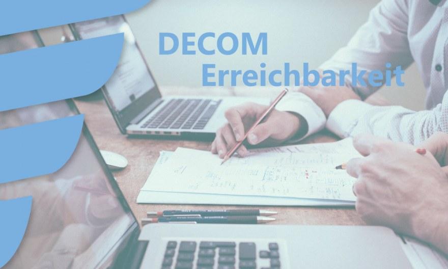 DECOM - Erreichbarkeit DECOM - Image